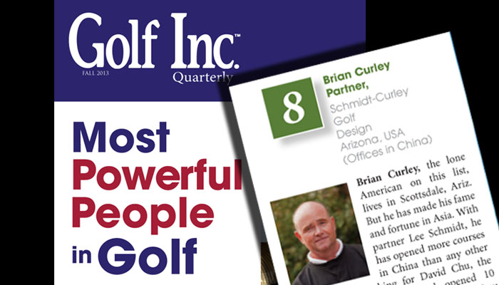 Golf Inc - Most Powerful Asia 10-16-13